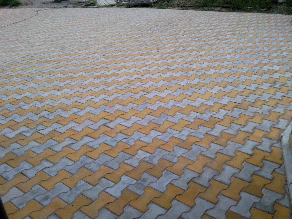 Тротуарная плитка Катушка 3