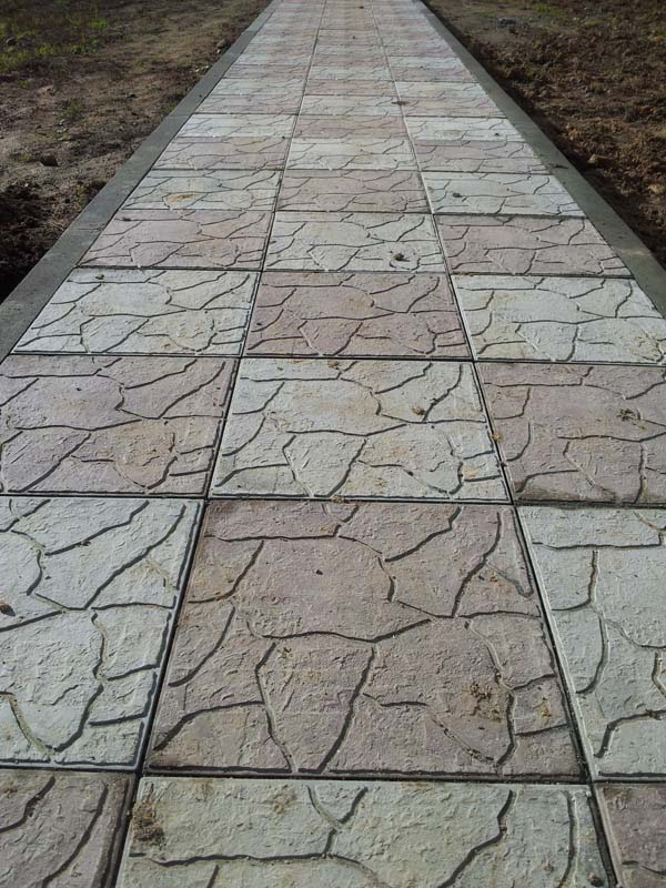 Тротуарная плитка Тучка 1