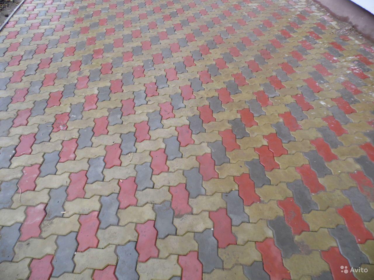 Тротуарная плитка Волна 6