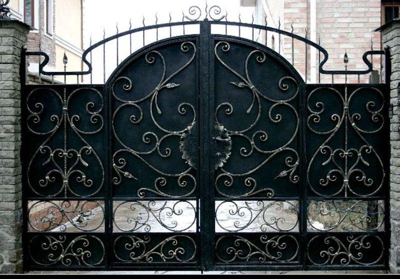 кованные ворота на закакз