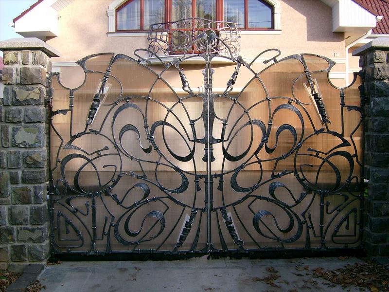 Кованные ворота в Домодедово и в Домодедовским районе