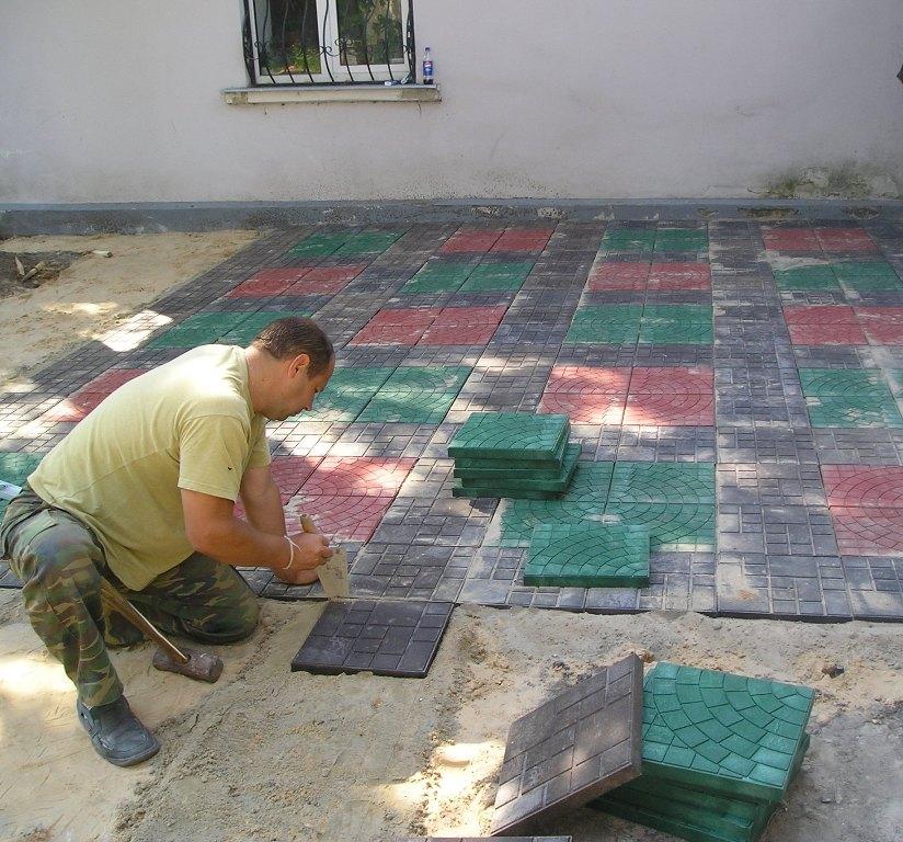 Укладка тротуарной плитки  в Домодедово и в Домодедовским районе
